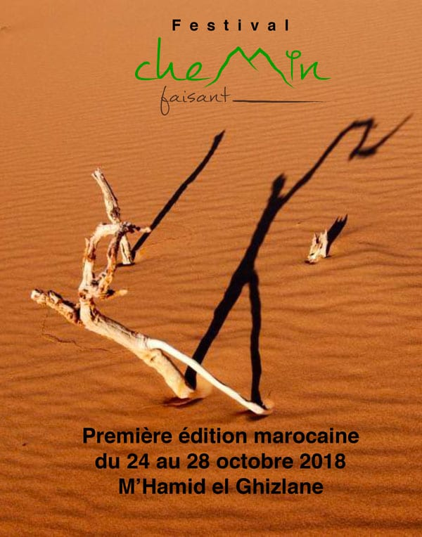 Festival Chemin Faisant Edition 2018 Maroc