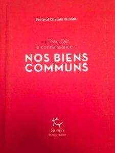 Edition 2017 Festival Chemin Faisant, nos biens communs